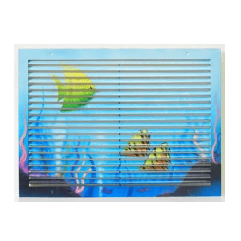 גריל אויר חוזר - SDR -דגים