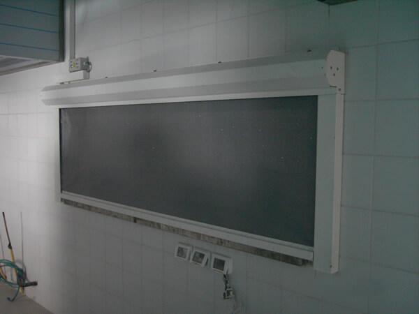 מסך אש/עשן להפרדת מטבחים