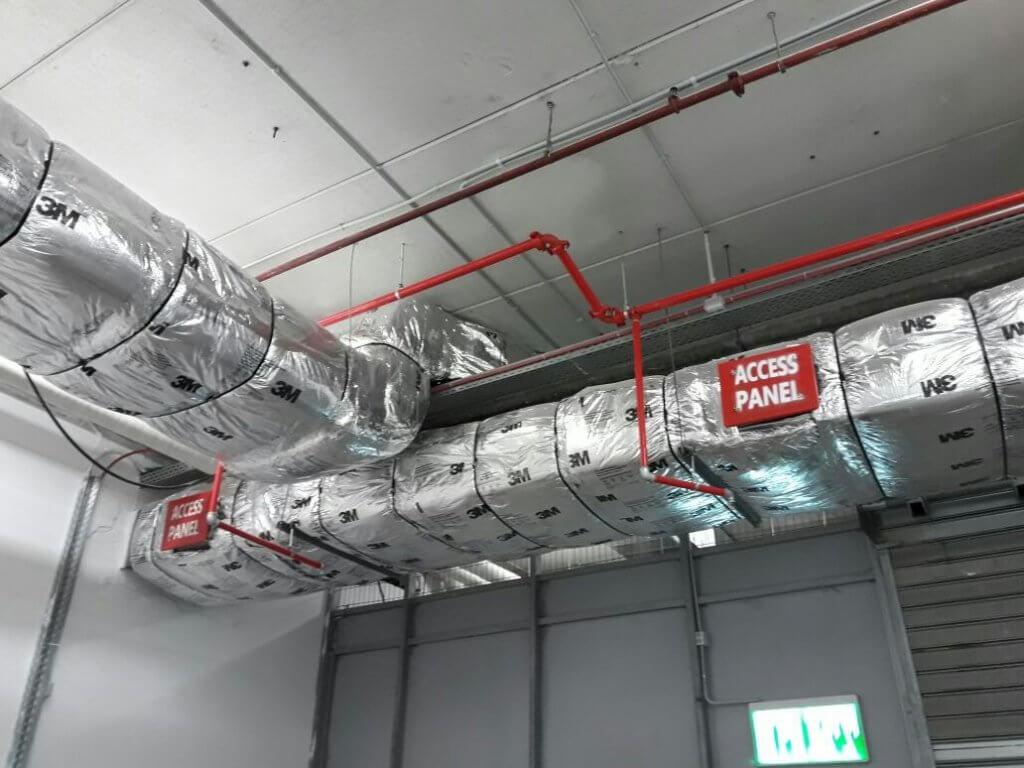 יריעה קרמית לעיטוף תעלות +Duct Wrap 615