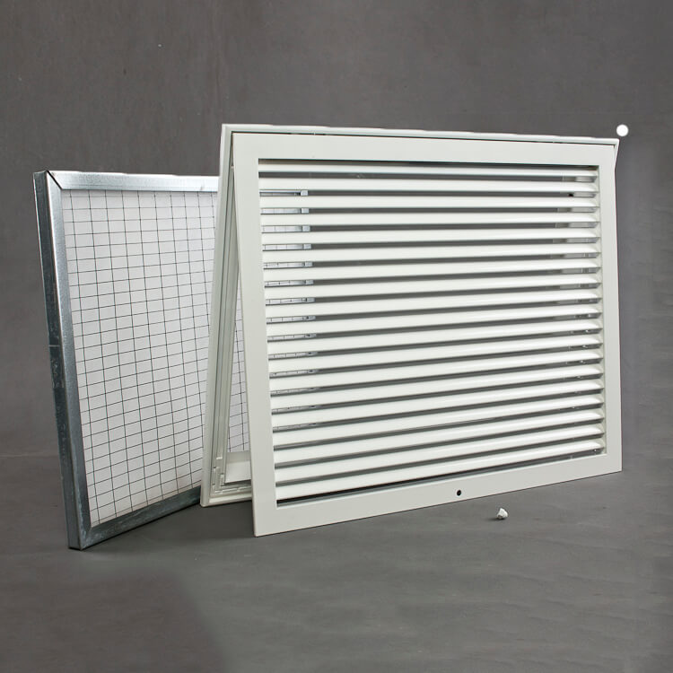 FRFH - Classic Return Grille With Hinged Filter Holding Frame